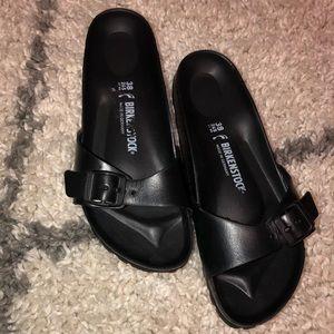 Birkenstock Shoes - Birkenstock Womens Black Madrid EVA Sandals 38